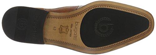 Bugatti 311156024100, Scarpe Stringate Uomo Marrone (Cognac 6300)