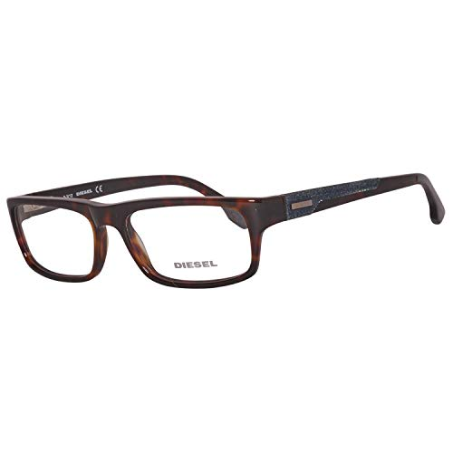 Diesel brille dl5030 052 53 montature, marrone (brown), 55.0 uomo