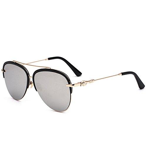 Stilvolle Neue Hälfte Umrahmen Die Kröte Sonnenbrille Männer Lady Hellen Sonnenbrillen , 3 (Erwachsene Kröte Kit)