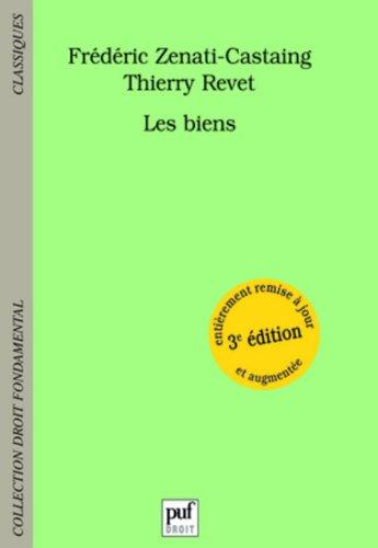 Les biens par Frédéric Zenati-Castaing