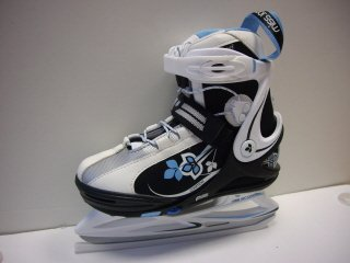 V3TEC MISS.ION COSMOS GIRL ICE SKATE, black/white/blue, Gr.2XS(29-32)
