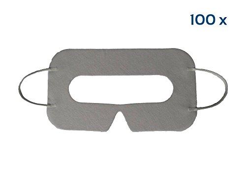 EasyMask - VR Masken - 100Stk Einweg Hygiene VR Masken für Virtual Reality Brillen