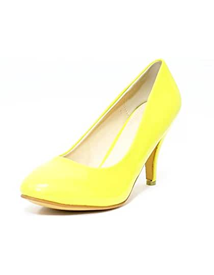 Kolnoo , Hi-Top Slippers femme - jaune - Yellow, 40