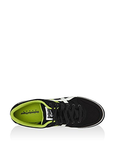 Onistuka Tiger Aaron, Chaussures de basket-ball mixte adulte noir/blanc