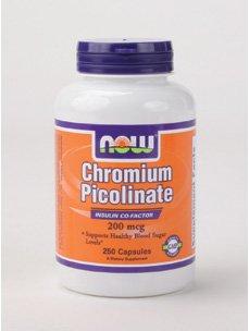 Chromium Picolinate 200 mcg 250 caps from Now Foods