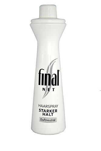 Final Net NFP Spray per capelli Neutral, confezione da (3X 125ML)