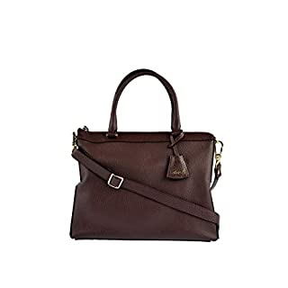 Abro HANDTASCHE NEWTON IN BORDEAUX Rot One Size