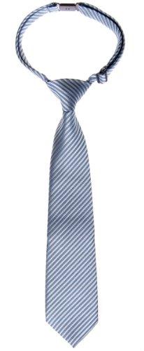 retreez-jungen-gewebte-vorgebundene-krawatte-textur-gestreifte-blaugrau-6-18-monate