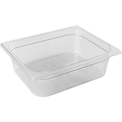 PUJADAS GN-Behälter1/2 Polycarbonat, Tiefe: 100 mm, Inhalt: 6,00 Liter