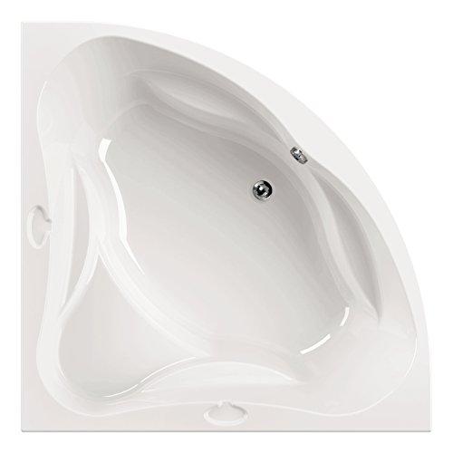 AquaSu I Acryl - Badewanne meLeo I 140 x 140 cm I Weiß I Wanne I Badewanne I Bad I Badezimmer