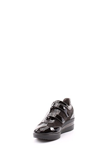 MELLUSO R0872 Scarpa Velcro Donna Nero