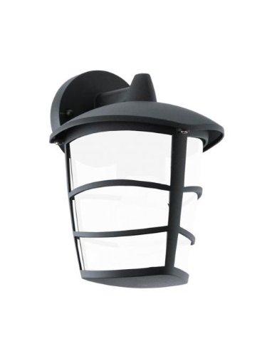 Eglo 93516 Lanterne, aluminium, GX53, noir