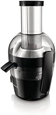 Philips Viva Collection - Licuadora, 700 W, 2 l, orificio extra grande, color negro tinta