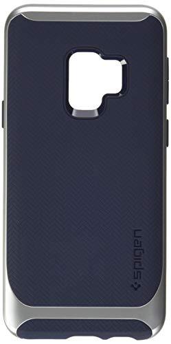 Spigen 592CS22858 Neo Hybrid Kompatibel mit Samsung Galaxy S9 Hülle, Zweiteilige Modische Muster Silikon PC Rahmen Schutzhülle Case Arctic Silver Neo Hybrid