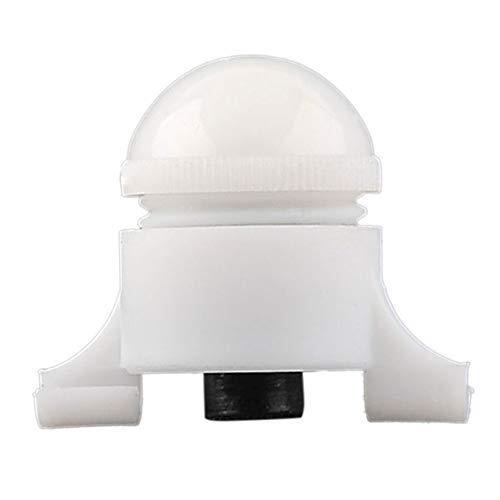 CXZC Beißhaken-Alarm,Weiß Kleine tragbare Mini HOT Bissanzeiger 2 Größe in 1 Nacht Angelrute Rods TIPP Clip auf Fisch Fischen B