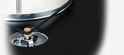 Clearaudio concept mm V2BLACK tp065/mm Black Tourne-disque à sangle de CLEARAUDIO