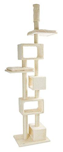 Kerbl 81532 Kratzbaum Capella, XL, beige, 57 x 40 x 240-260 cm