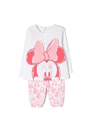ZIPPY Baby-Mädchen Zbgpl10_455_1 Zweiteiliger Schlafanzug, Pink (Peony 2537), 86 (Herstellergröße: 18/24M)