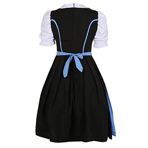 URSING Damen Süß Cosplay Rollenspiel Kleid Mädchen Kostüm Einteiliges Kleid Prinzessin Renaissance Vintage Röcke Halloween Party Cocktailrock ()