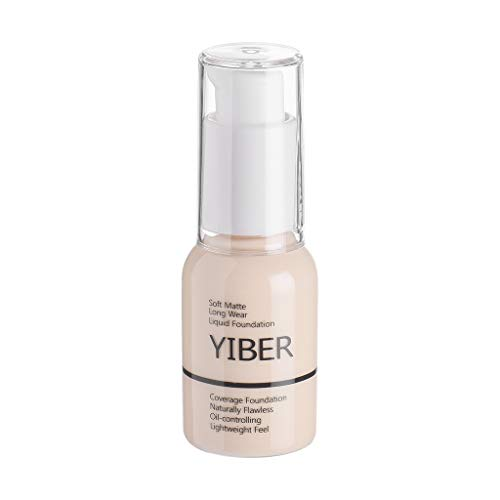 Cover Girl Mineral Foundation (Harpily New 30Ml Matte Long Wear ÖLsteuer Concealer FlüSsige Grundierungscreme All Day Flawless 3 In 1 Foundation In Natural Primer Concealer & Foundation In Einem FüR EIN Perfekt Mattiertes)