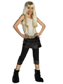 Hannah Montana with Wig Deluxe Costume: Girl's Size 7-8