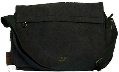 Troop London 112 Messenger Bag Dispatch Bag New 09 Range (Noir)