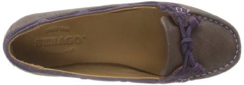 Sebago Felucca Lace, Chaussures basses femme Marron (Brown/Violet)