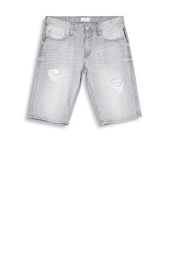 edc by ESPRIT Herren Shorts Grau (Grey Light Wash 923)