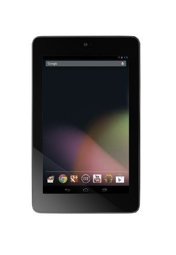 Asus Google Nexus 7 17,8 cm (7 Zoll) Tablet-PC (NVIDIA Tegra 3, 1GB RAM, 32GB interner Speicher, WiFi, Bluetooth, NFC, Android 4.1) schwarz - Modell 2012 (Asus Tablet Nexus 7)