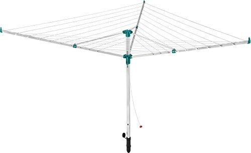 LEIFHEIT Linotrend 500 Tendedero giratorio Verde, Acero inoxidable - Secadora de ropa...