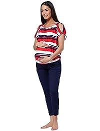 HAPPY MAMA Donne maternit/à Allattamento Seno Tuta /& Jogger Impostano 1024p