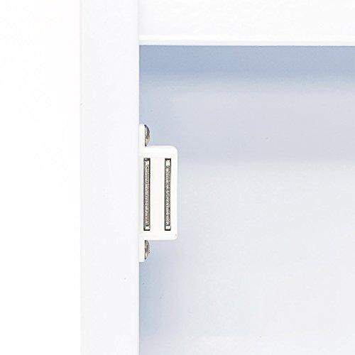 medizinschrank xxl mit glast r aus edelstahl bestseller shop f r m bel und einrichtungen. Black Bedroom Furniture Sets. Home Design Ideas