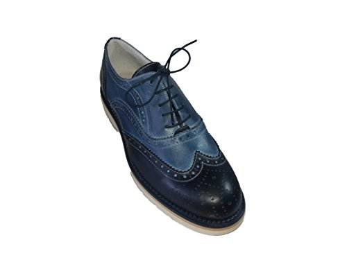 Day for Day Hombre zapatos derby azul Size: 44
