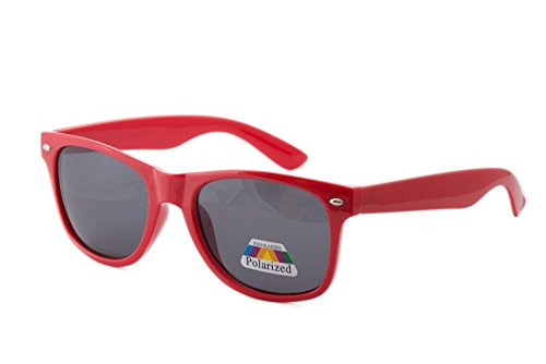 Kinder Polarisiert Sonnenbrille für Jungen, Mädchen Pilotenbrille, silberfarbene spiegelnde...