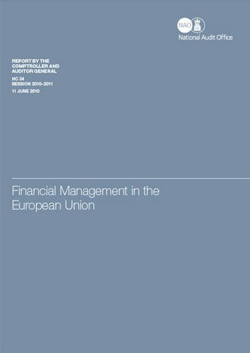 Financial management in the European Union (House of Commons papers)