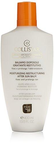 Balsamo doposole idratante restitutivo di Collistar, Balsamo doposole Unisex - Flacone 400 ml.