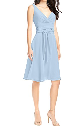 Ivydressing - Robe - Trapèze - Femme bleu clair
