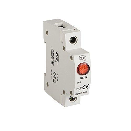 Kontroll Lampe Ideal by Kanlux LED rot Phasenprüfer Phasenkontrollleuchte Kontrolllampe 13mA, IP20, SMD LEDs, Kanlux KLI-R RED (23320) Konformität : Normen EN60947-1 / EN60947-5-1