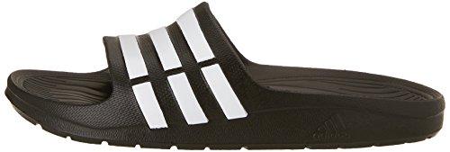 adidas Duramo Slide G06799, Unisex-Kinder Sandalen, Schwarz (Black 1 / Running White Ftw / Black 1), EU 33 -