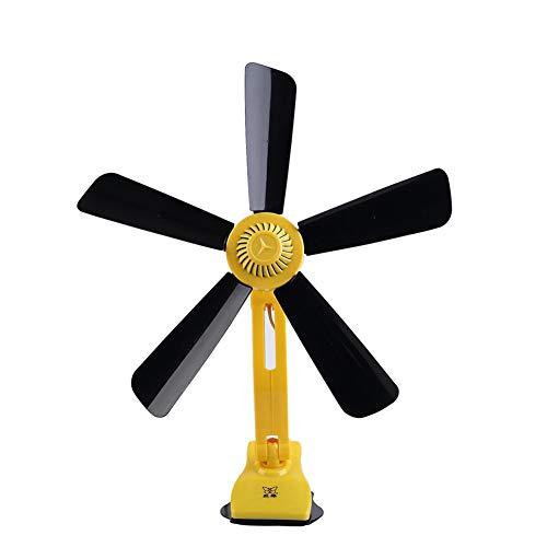Ventilador de Clip Ventilador de Cama Ventilador de 5 Hojas Ventilador de...