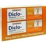 DICLO RATIOPHARM Schmerzgel Bündelpackung 200 g Gel