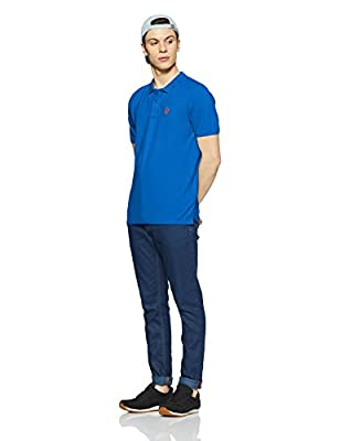 Breakbounce Men's Solid Regular Fit T-Shirt