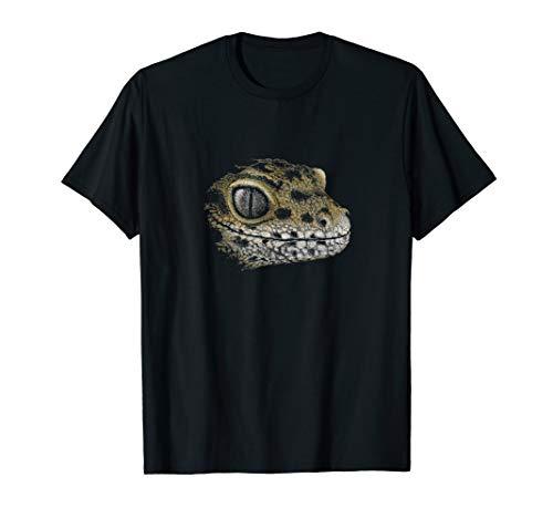 Leopard-eidechse (Eidechsen Gecko Zeichnung | Cooles LeopardGecko  T-Shirt)