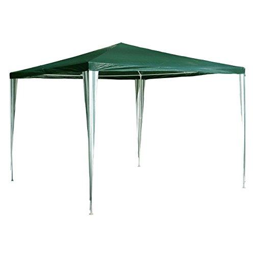 Nexos GM36002 PE-Pavillon Partyzelt für Garten Terrasse Markt Camping Festival als Unterstand und...