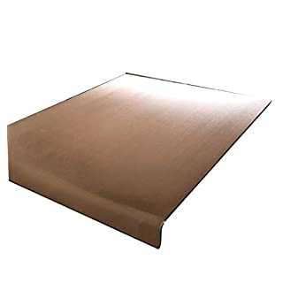 Genuine Copper Worktop Saver (500 x 500mm Square Edge)