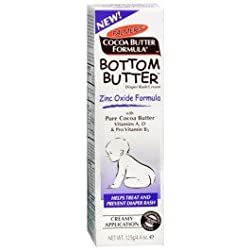 Bottom Butter - Zinc Oxide Diaper Rash - Helps Treat and Prevent Diaper Rash, 4.4 oz,(Palmer's)