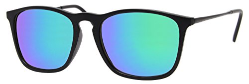 cheapass-occhiali-da-sole-wayfarer-neri-specchiati-blu-verdi-uv-400-sports-metallo-donne-e-uomini
