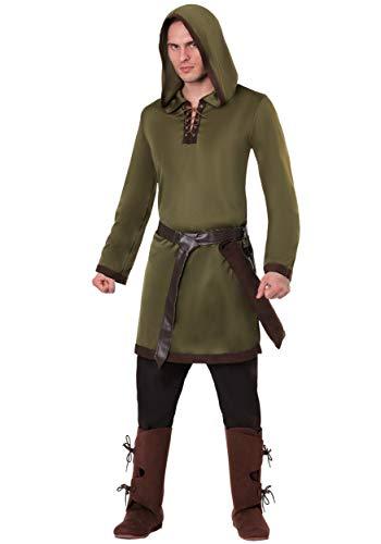 Kostüm Xl Hood Adult Robin - Robin Hood Kostüm für Herren - XL