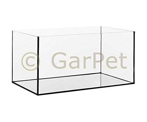 Aquarium Glasbecken 80x35x40 cm, 6 mm, rechteck, 112 Liter Becken