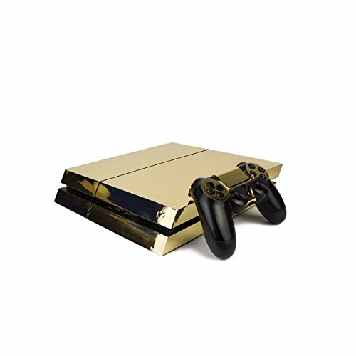 premium-ps4-playstation-4-metallic-vinyl-wrap-skin-cover-for-ps4-console-and-ps4-controllers-chrome-